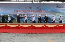 Động thổ dự án Nhà máy nhiệt điện Duyên Hải 2