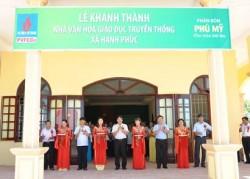 Khánh thành Nhà văn hóa tại Thanh Hóa do PVFCCo tài trợ