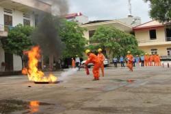 EVNNPC huấn luyện an toàn, vệ sinh lao động năm 2016