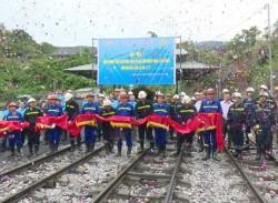 Than Uông Bí đón tấn than đầu tiên dự án Bắc Đồng Vông