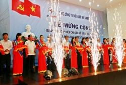 Mừng công hoàn thành dự án cấp điện cho đồng bào Khmer