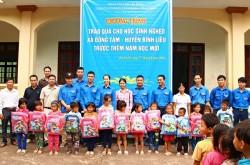 Quacontrol trao quà cho học sinh nghèo tại Quảng Ninh