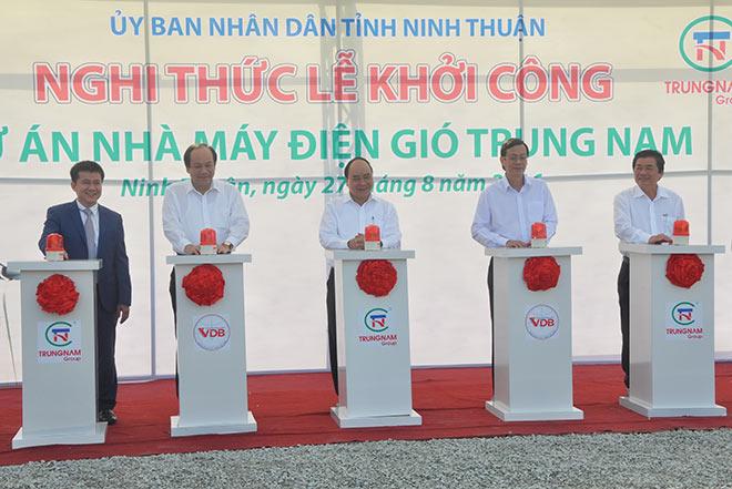 Trung Nam Wind power project construction commences