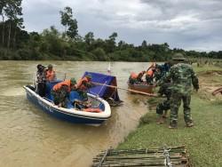 Thủy điện Hố Hô diễn tập phòng chống lũ lụt vùng hạ du