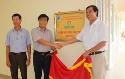 PVCFC bàn giao Nhà học bộ môn cho Trường THCS Đại Thành