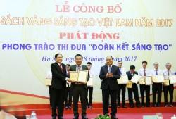 Đề tài của BSR được ghi vào Sách Vàng sáng tạo Việt Nam