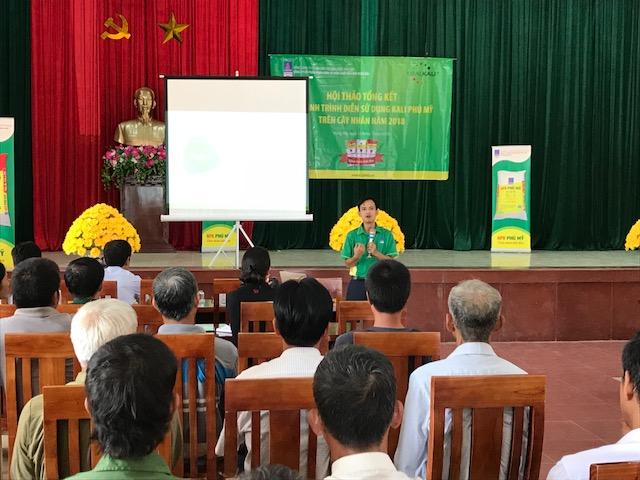 Phân bón Phú Mỹ giúp cây nhãn Hưng Yên tăng năng suất 1