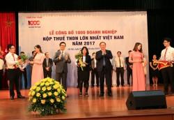 BSR đứng thứ 33 doanh nghiệp nộp thuế lớn nhất Việt Nam