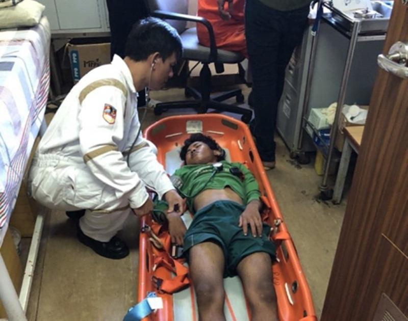 Vietsovpetro hỗ trợ y tế cho ngư dân bị nạn trên biển 2
