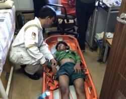 Vietsovpetro hỗ trợ y tế cho ngư dân bị nạn trên biển