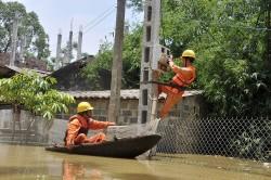 EVNHANOI diễn tập phòng chống thiên tai và tìm kiếm cứu nạn
