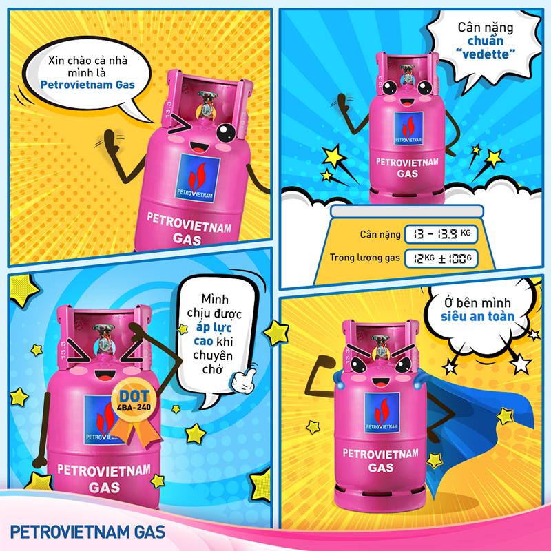 Ra mắt Fanpage cho sản phẩm PETROVIETNAM GAS