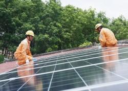 EVNSPC thúc đẩy phát triển điện mặt trời trên mái nhà