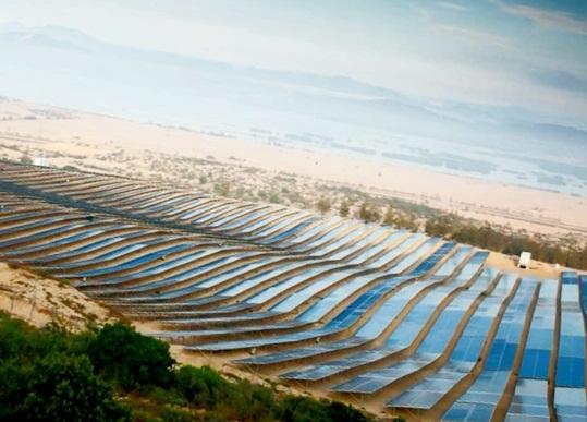 Inauguration of Fujiwara Solar Power Plant in Binh Dinh