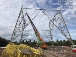 Thi công các dự án lưới điện ở Hậu Giang gặp khó khăn