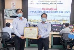 Công ty Điện lực đầu tiên tiếp nhận quyền điều khiển máy biến áp 110 kV