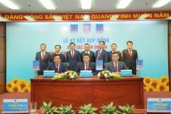 Ký kết hợp tác kinh doanh giữa các tổng công ty đầu ngành của PVN