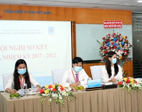 Công đoàn Cơ quan Điều hành PV GAS tổ chức Hội nghị sơ kết