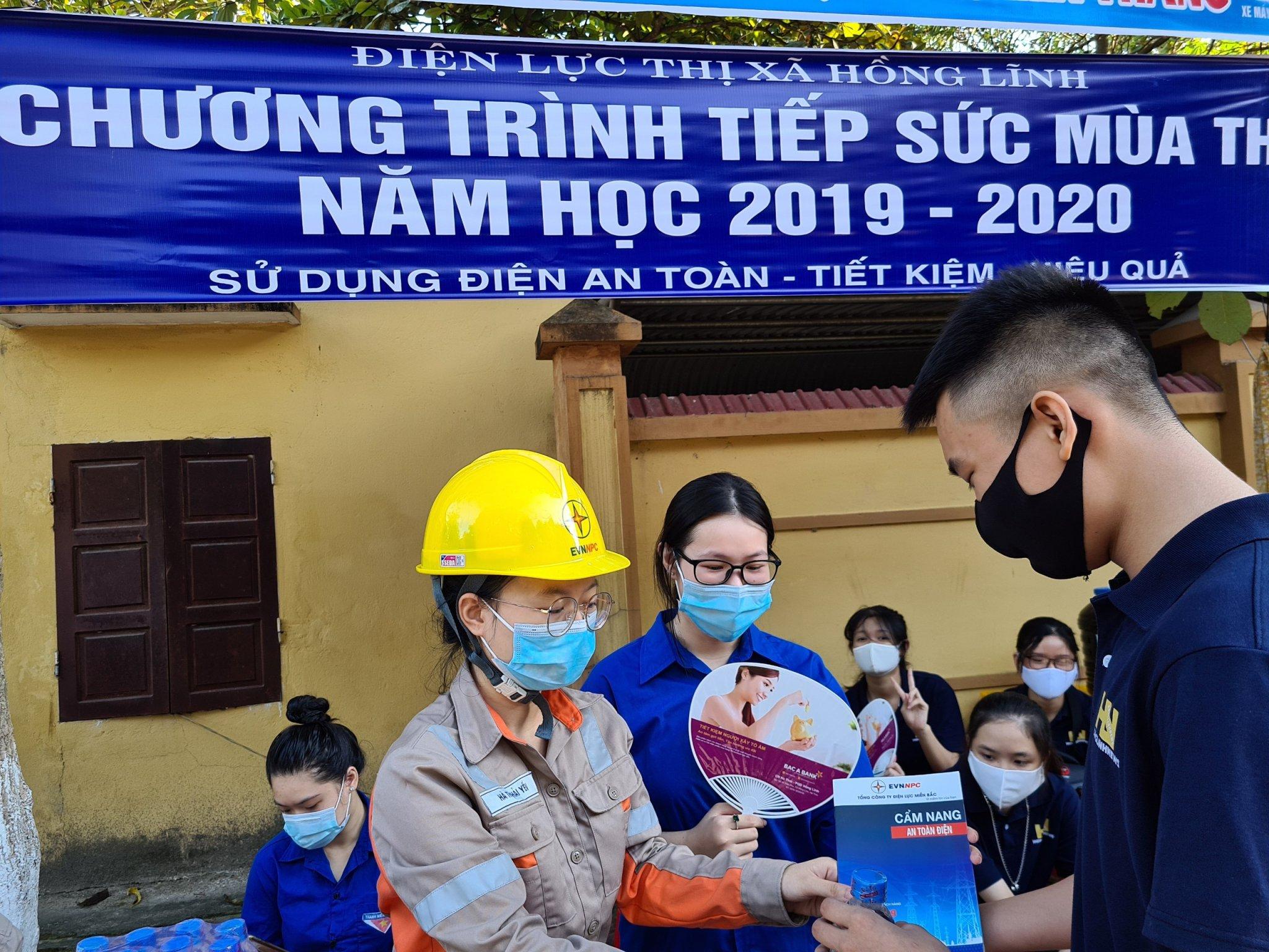 PC Hà Tĩnh đồng hành cùng kỳ thi tốt nghiệp phổ thông trung học