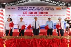 EVNSPC khởi công Trạm biến áp 110 kV Hựu Thạnh 2 và đường dây đấu nối