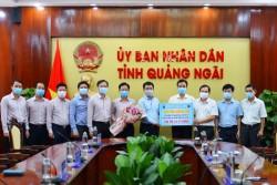 BSR tài trợ tỉnh Quảng Ngãi mua máy xét nghiệm Covid-19
