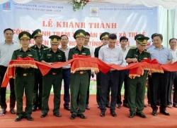 Khánh thành Trạm xá quân dân y tại Nghệ An do PV GAS tài trợ
