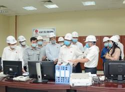 Đoàn công tác của Quốc hội làm việc tại Nhiệt điện Mông Dương 1