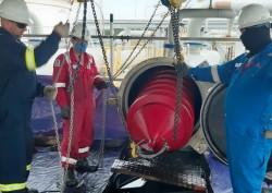 BSR làm sạch đường ống dẫn dầu bằng công nghệ phóng PIG