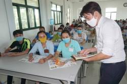 PC Trà Vinh tuyên truyền sử dụng điện an toàn, tiết kiệm cho người lao động