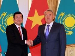 Việt Nam - Kazakhstan khẳng định hợp tác trong lĩnh vực dầu khí