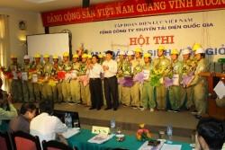 """Hội thi """"An toàn vệ sinh viên giỏi"""" EVNNPT - góp phần hoàn thành nhiệm vụ sản xuất"""