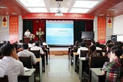 Khai giảng lớp Bồi dưỡng kiến thức quản lý Nhà nước - Hành chính doanh nghiệp ngạch chuyên viên chính