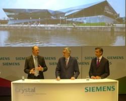 Siemens khánh thành trung tâm phát triển đô thị bền vững, tiết kiệm điện và giảm khí thải