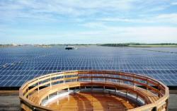 Dự án điện năng lượng mặt trời lớn nhất Đông Nam Á hòa lưới điện