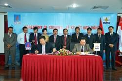 PVC-MS ký hợp tác chiến lược với McPECOM của Singapore