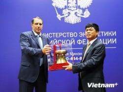 Chủ tịch PVN Nguyễn Xuân Sơn làm việc tại Liên Bang Nga