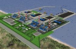 Đẩy nhanh tiến độ cơ sở hạ tầng Trung tâm Điện lực Sông Hậu