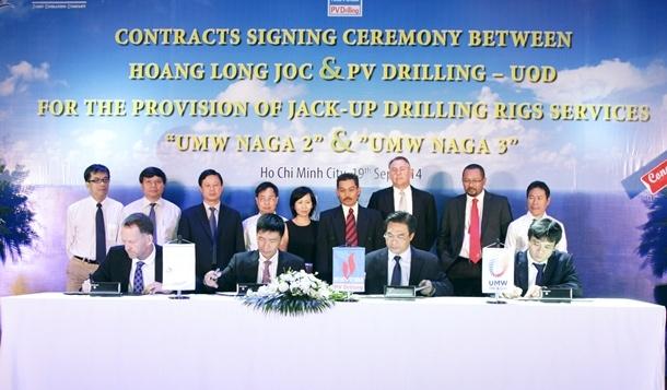 PV Drilling and UOD Partner provide drilling rigs for Hoang Long JOC