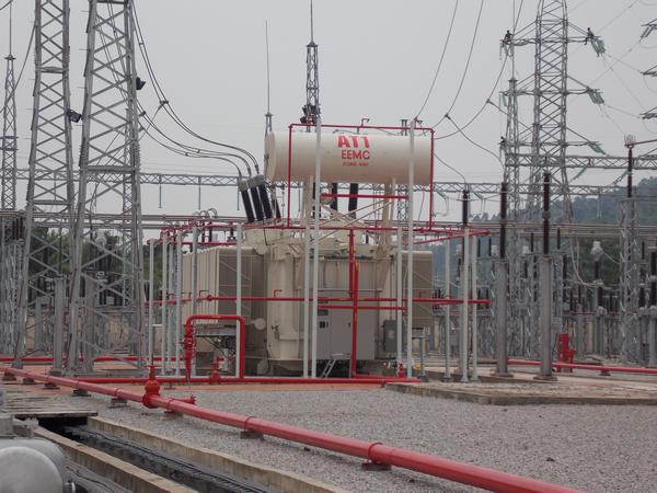 Đóng điện trạm biến áp 220kV Bảo Thắng