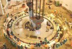 Hoàn thành lắp tổ máy 1 thủy điện Lai Châu trong tháng 9