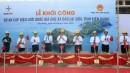 Groundbreaking construction of a longest in Vietnam sea crossing 110 kV overhead power transmission line
