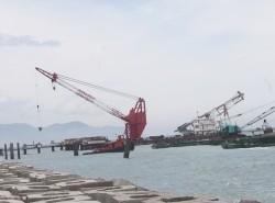 Hoàn thành nạo vét lần đầu công trình biển LHD Nghi Sơn