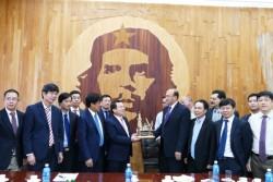 PVN làm việc với Công ty Dầu mỏ Quốc gia Cuba