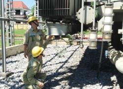 Đã khắc phục sự cố dầu loang tại TBA 220kV Vĩnh Yên