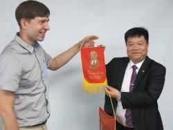 Công đoàn CN và Năng lượng Hạt nhân Nga công tác tại Việt Nam