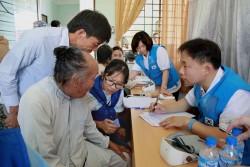 Doosan Vina với chương trình y tế thường niên tại Quảng Ngãi