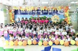 Trường Mầm non Ước mơ Doosan khai giảng năm học mới