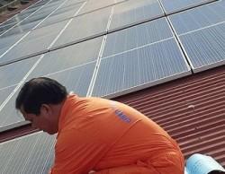 Thủy điện Yaly đưa vào sử dụng công trình điện mặt trời áp mái