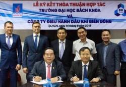 BIENDONG POC ký hợp tác với Trường ĐHBK TP. Hồ Chí Minh