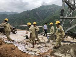 EVNNPT tập trung nguồn lực khắc phục các sự cố do mưa lũ